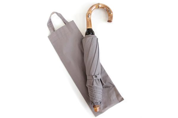 CINQ / サンク      折りたたみ傘 / 晴雨兼用 (グレー)