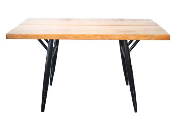 Ilmari Tapiovaara          Pirkka TABLE(ピルッカテーブル) / Laukaan puu(1960年代)1月末まで送料無料