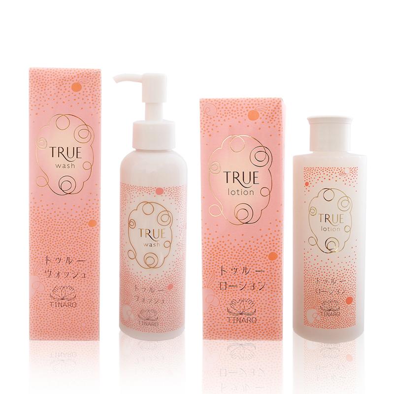 洗顔水(トゥルーウォッシュ)+真秘水(トゥルーローション)の美肌セット(各1本) - 送料無料
