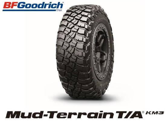 B.F.Goodrich グットリッチ Mud-Terrain T/A KM3 37X12.50R17LT  124Q