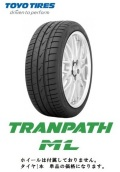 TOYO トーヨー トランパス TRANPATH ML 195/65R15 91H エムエル