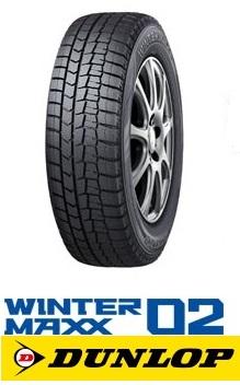 DUNLOP ダンロップ  WINTER MAXX WM02  155/65R14 75Q  スタッドレス ウインターマックスWM02