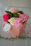 フレグランスソープフラワー ギフトBOX ピンク