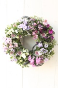 季節の小花寄せ植えギャザリングリース(要予約商品)