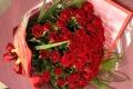 【全国送料無料】バラ 赤50本 花束 【要予約商品】