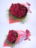 バラ 赤50本 豪華 花束