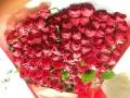【全国送料無料】バラ 赤100本 花束 【要予約商品】
