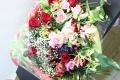 【全国送料無料】バラ 赤ピンク系 花束