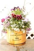 季節の寄せ植えギャザリング 樽アレンジ 大(要予約商品)