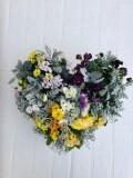 ハート型 季節の寄せ植えプランツギャザリング(要予約商品)