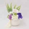 フレグランスソープフラワー パープル 仏花やすらぎ