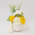 フレグランスソープフラワー イエロー 仏花やすらぎ