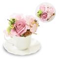 フレグランスソープフラワー カフェ ピンク