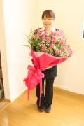 【全国送料無料】季節のお任せ花束¥10500