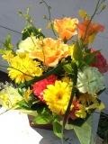 【全国送料無料】キイロ・オレンジ 記念日・お祝い・お見舞いなど ギフトアレンジメント!