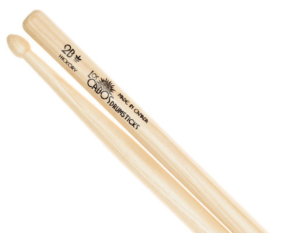 LosCabos White Hickory Drumstick 2B 2ペアセット