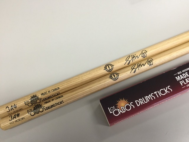 LosCabos Red Hickory Drumstick 3A SHiNシグネチャーモデル 2ペアセット
