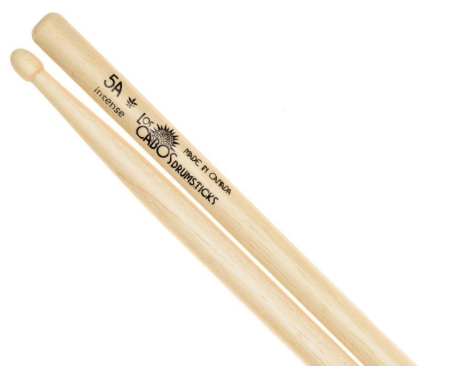 LosCabos White Hickory Drumstick 5A Intense 2ペアセット