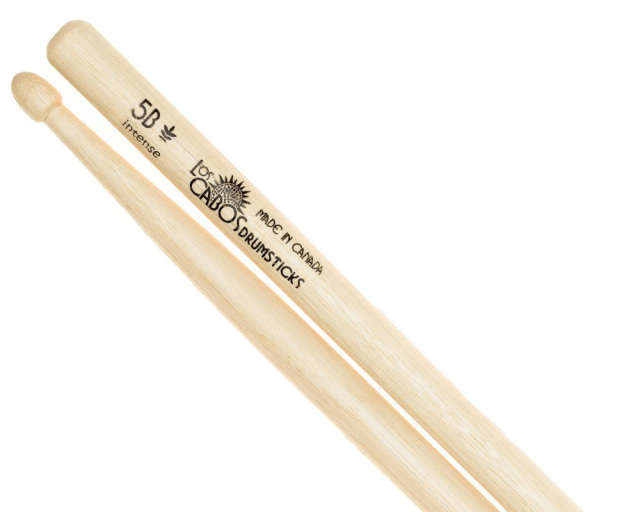 LosCabos White Hickory Drumstick 5B Intense 2ペアセット