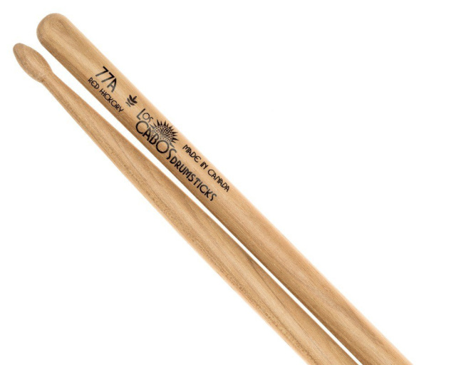 LosCabos Red Hickory Drumstick 77A 2ペアセット
