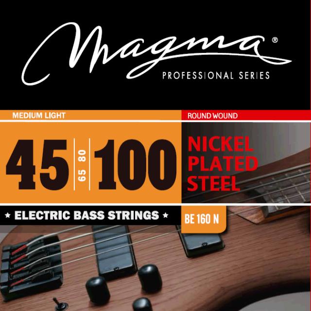 Magmaストリングス NICKEL PLATED STEEL BE160N 【メール便可】