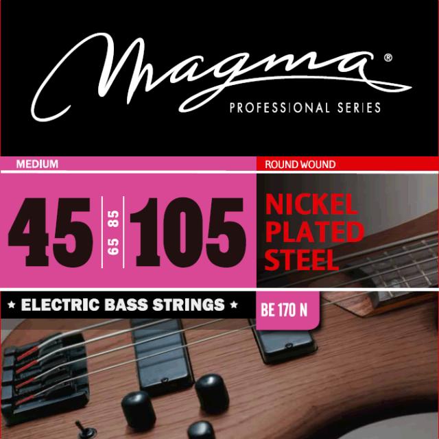 Magmaストリングス NICKEL PLATED STEEL BE170N 【メール便可】