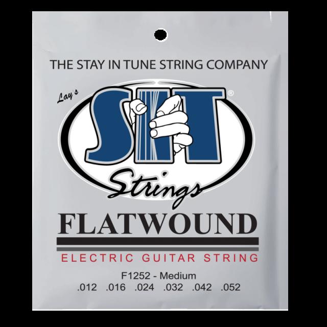 SITストリングス FlatWound F1252 【メール便可】