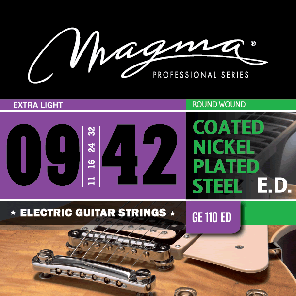Magmaストリングス EXTENDED DURABILITY COATED NICKEL GE110ED 【メール便可】