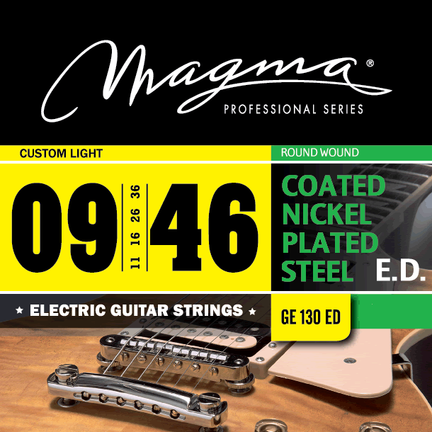 Magmaストリングス EXTENDED DURABILITY COATED NICKEL GE130ED 【メール便可】
