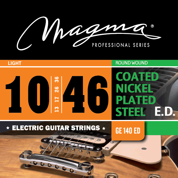 Magmaストリングス EXTENDED DURABILITY COATED NICKEL GE140ED 【メール便可】