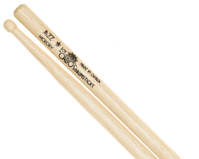 LosCabos White Hickory Drumstick Jazz 2ペアセット