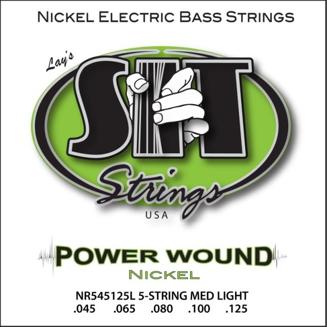 SITストリングス PowerWound 5弦 TNR5-45125 【メール便可】