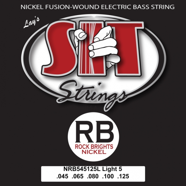 SITストリングス RockBrights 5弦 NRB5-45125L 【メール便可】