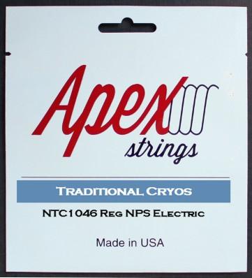 【特価】Apexストリングス Traditional CRYOS Electric String  NTC1046 【メール便可 】
