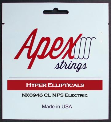【特価】Apexストリングス Hyper-Ellipticals Electric String  NX0946 【メール便可 】