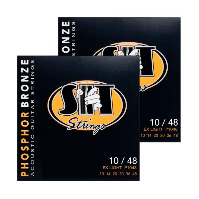 SITストリングス PhosphorBronze P1048TP お得な2セットパック 【メール便可】