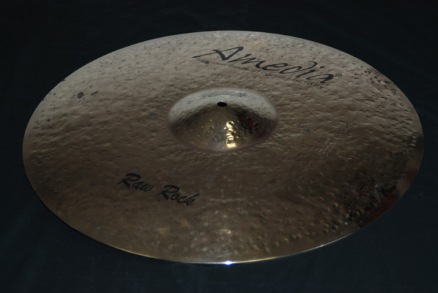 Amedia Cymbals Raw Rock Series