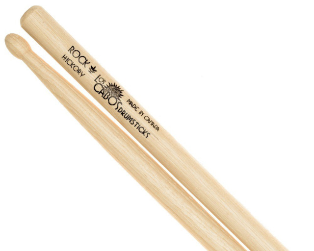 LosCabos White Hickory Drumstick Rock 2ペアセット