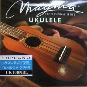 Magmaストリングス ソプラノ用ウクレレ弦 UK100 【メール便可】