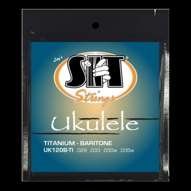 SITストリングス チタニウム バリトン・ウクレレ弦 UK120B-TI  【メール便可】