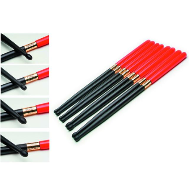 AQUARIAN X-10 Graphite Sticks with Shock Grip