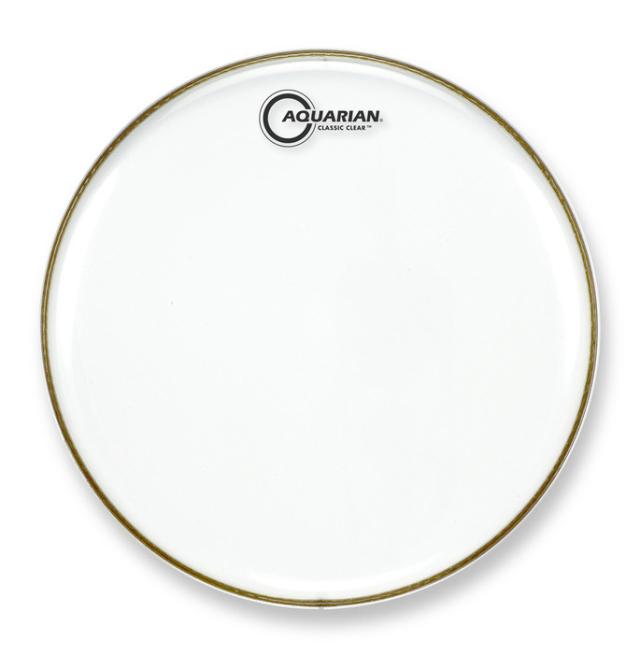 AQUARIAN Drumhead Classic Clear /1プライ