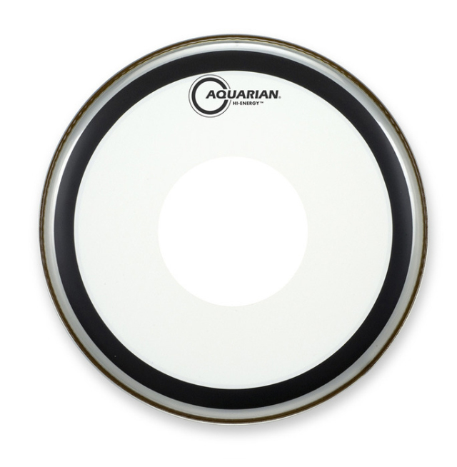 AQUARIAN Drumhead Hi-Energy Coated /1プライ