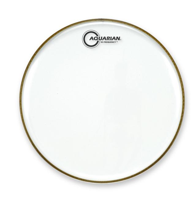 AQUARIAN Drumhead Hi-Frequency Clear /1プライ
