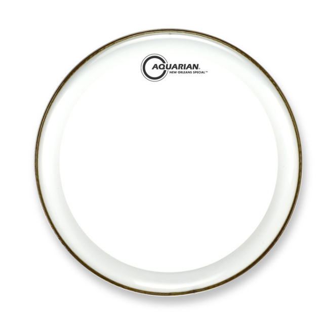 AQUARIAN Drumhead New Orleans Special Clear w/Power Thin Dot /1プライ