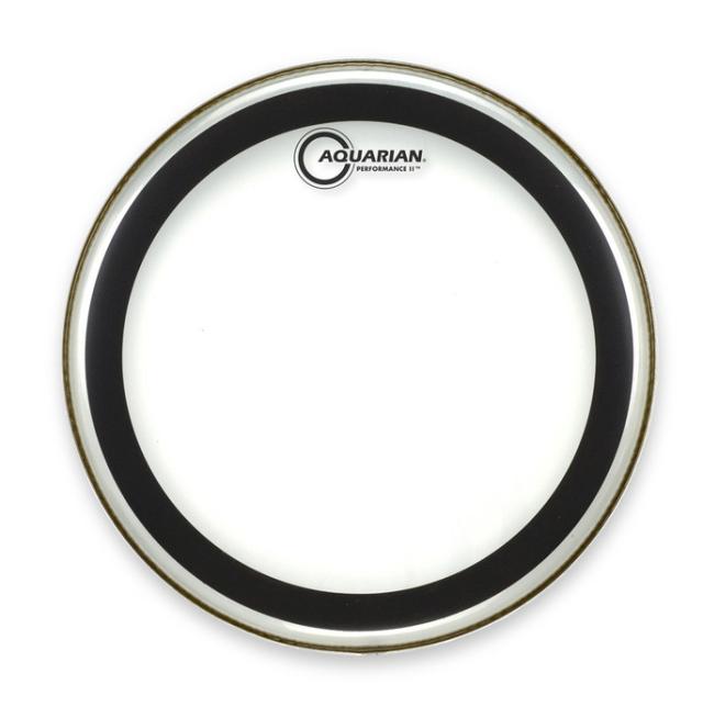 AQUARIAN Drumhead Performance II Clear /2プライ
