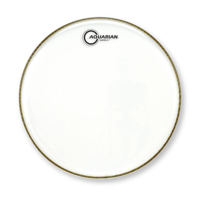 AQUARIAN Drumhead Super-2 Clear /2プライ