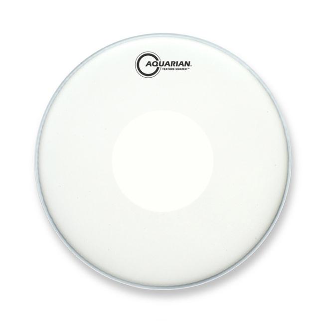 AQUARIAN Drumhead Texture Coated w/Power Dot /1プライ