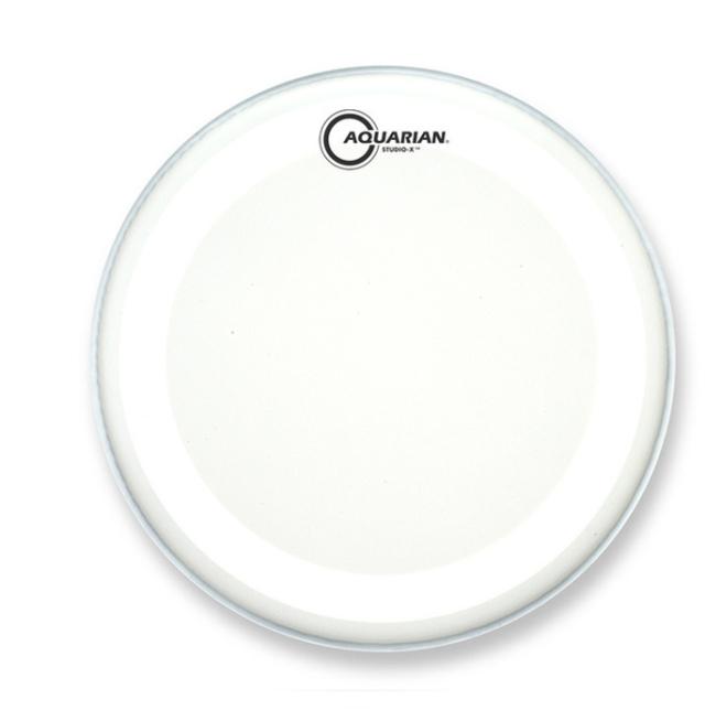 AQUARIAN Drumhead Studio-X Coated /1プライ