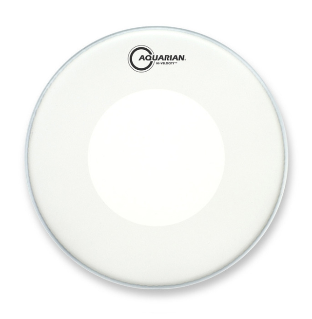 AQUARIAN Drumhead Hi-Velocity Coated /2プライ